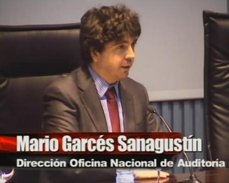 Mario Garcés Sanagustín. Dirección da Oficina Nacional de Auditoría, Intervención Xeral da Administración do Estado, Ministerio de Economía e Facenda.
